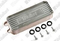 Запасная часть: Вторичный теплообменник на Vaillant Turbo/Atmo Plus VUW 202-282/200-280