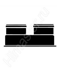разделительный адаптер для подключения жёстких труб vaillant dn 80 к ecotec 303938  Vaillant
