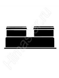 разделительный адаптер vaillant dn 80/80 мм 303818  Vaillant