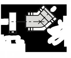 Отвод 45° Vaillant для трубы по фасаду (2 шт.)