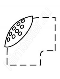 Крышка с сеткой для отвода 87° Vaillant 60/100 PP для устройства забора воздуха из помещения