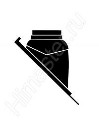 Черный элемент из пластмассы для пересечения дымоходом Vaillant