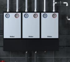 VDM 8M Насосная группа для регулируемого контура отопления с трёхступенчатым насосом и смесителем, R1''
