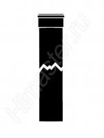 Удлинительная труба Vaillant Dn 80 мм.