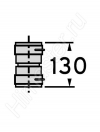 Набор Vaillant 3: Соединительный элемент гибкого дымохода Dn 80