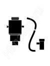 Адаптер Vaillant для перехода с 60/100 на 80/125 со сливом конденсата