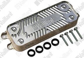 Запасная часть: Вторичный теплообменник на Vaillant Turbo/Atmo Pro VUW 242/240